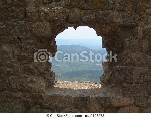 window on Roussillon - csp0198273