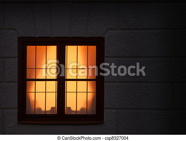 Window with light - csp8327004