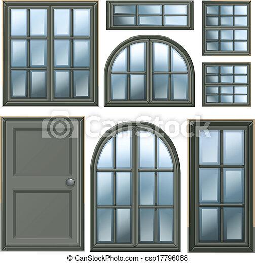 Diseño de ventanas diferentes - csp17796088
