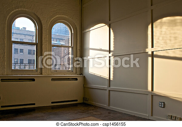Ventanas en la habitación - csp1456155