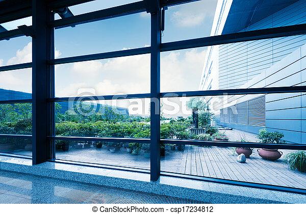 Ventanas de oficina - csp17234812