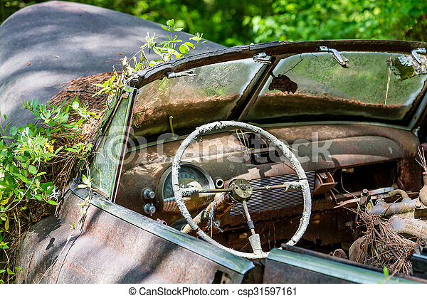 old windshield and speedometer in interior of a rusty old stock image search photos and. Black Bedroom Furniture Sets. Home Design Ideas