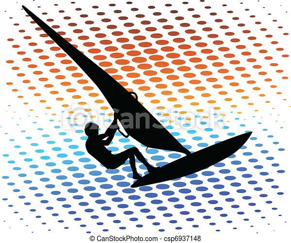 Windsurfer - csp6937148