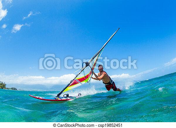 windsurfing - csp19852451
