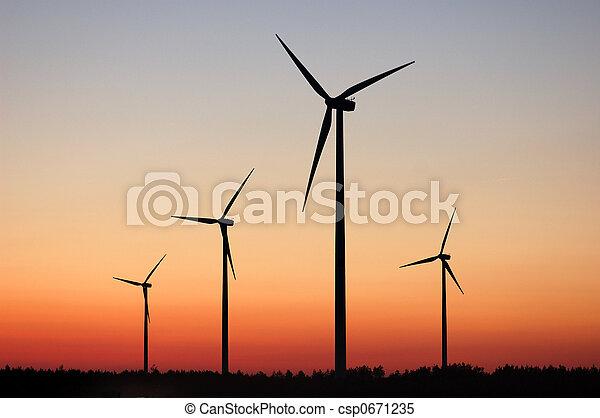windturbines - csp0671235