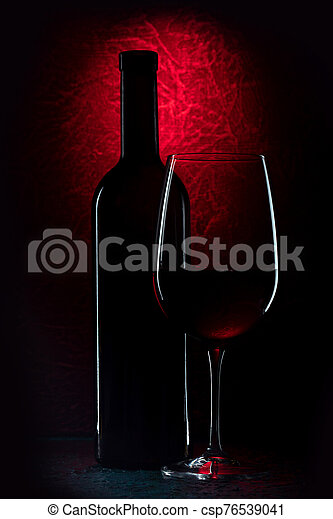wine against the wall - csp76539041