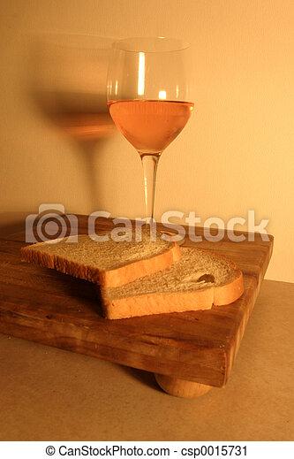 Wine and Bread - csp0015731