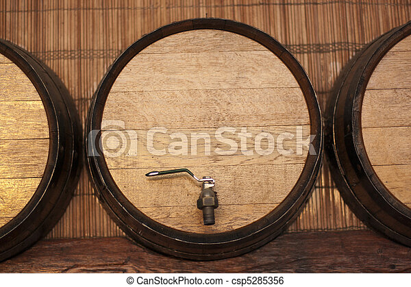 wine barrel - csp5285356