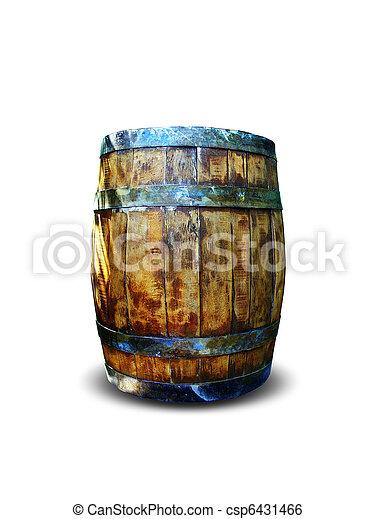 Wine barrel - csp6431466