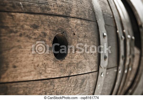 Wine Barrel - csp8161774