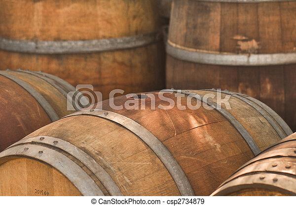 Wine Barrel Barrel Used To Store Vintage Wine