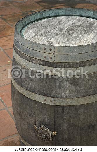 wine barrel - csp5835470