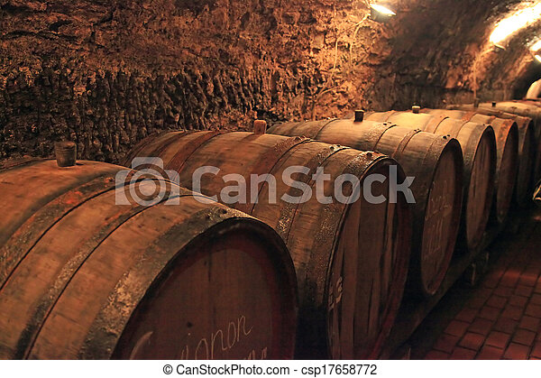 Wine barrels  - csp17658772