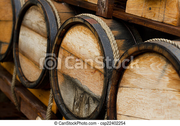Wine barrels - csp22402254