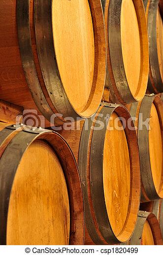 Wine barrels - csp1820499