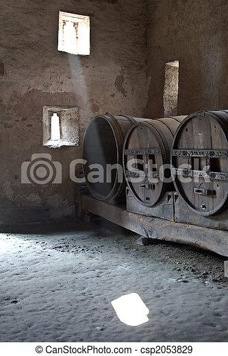 Wine barrels - csp2053829