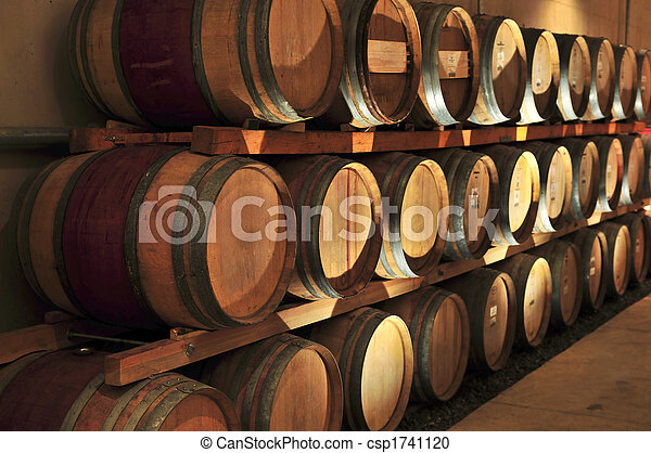Wine barrels - csp1741120