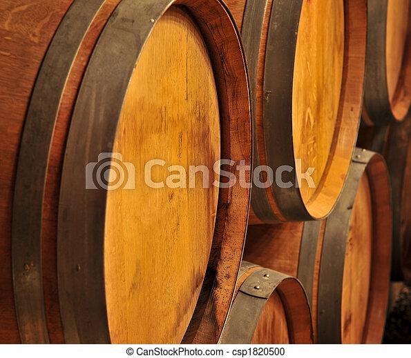 Wine barrels - csp1820500