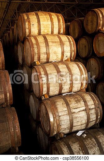 Wine barrels - csp38556100