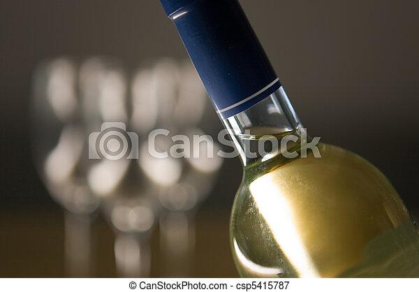 Wine Bottle - csp5415787