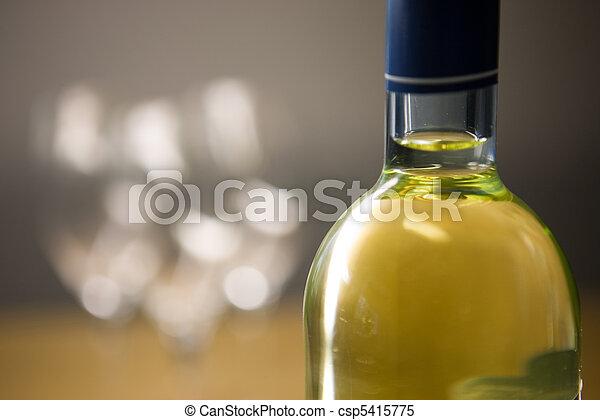 Wine Bottle - csp5415775