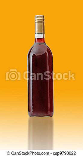 wine bottle - csp9790022