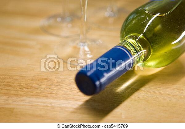 Wine Bottle - csp5415709