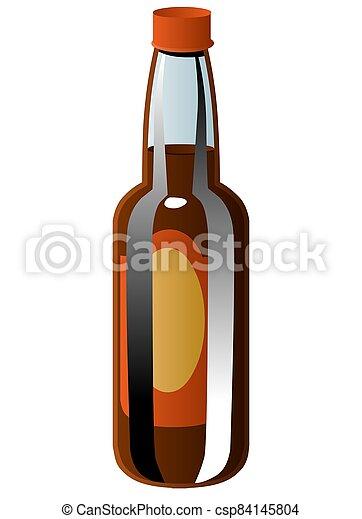 wine bottle - csp84145804