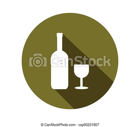wine bottle - csp50231807