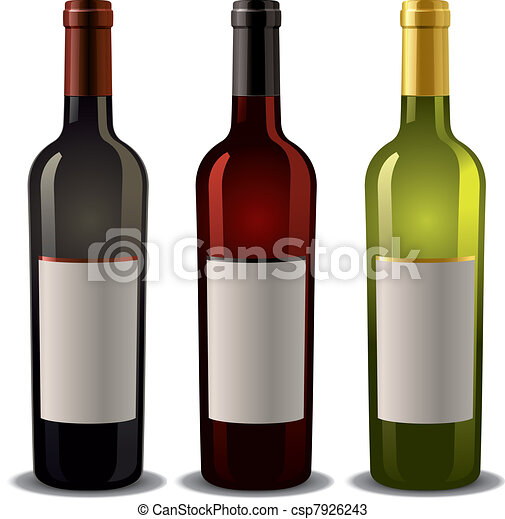 wine bottles with blank label vectors search clip art rh canstockphoto com wine bottle clip art images clipart wine bottle free