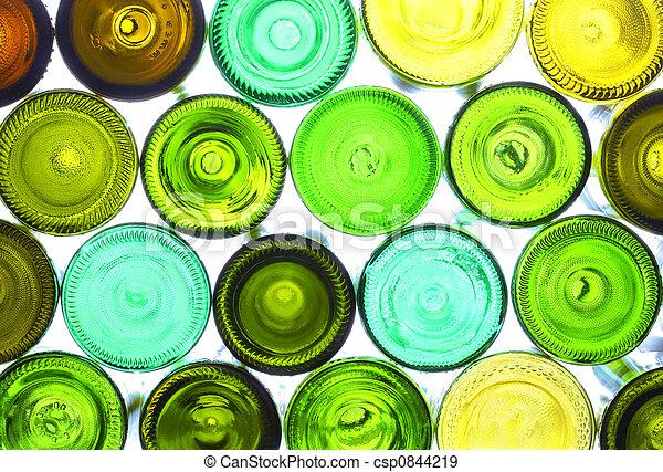 wine bottles - csp0844219