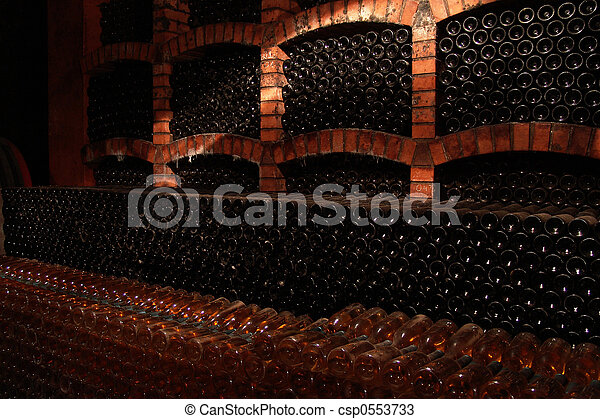 wine-bottles - csp0553733