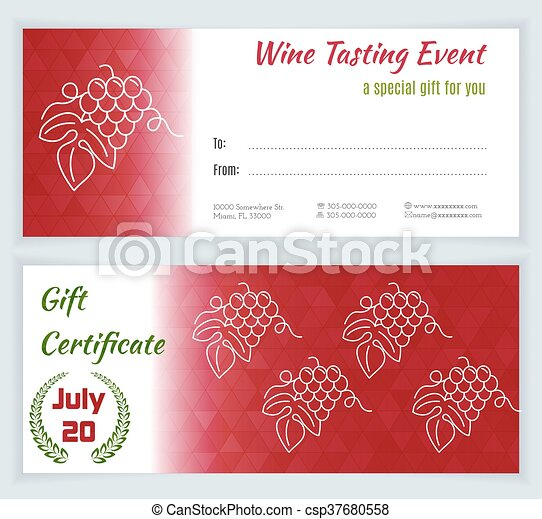 Wine business vector template wine tasting event gift clipart wine business vector template yelopaper Gallery