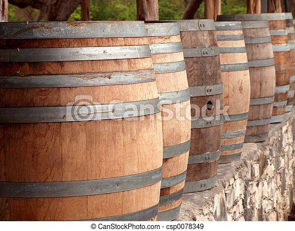 Wine Casks 2 - csp0078349