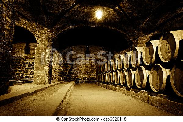 Wine Cellar - csp6520118