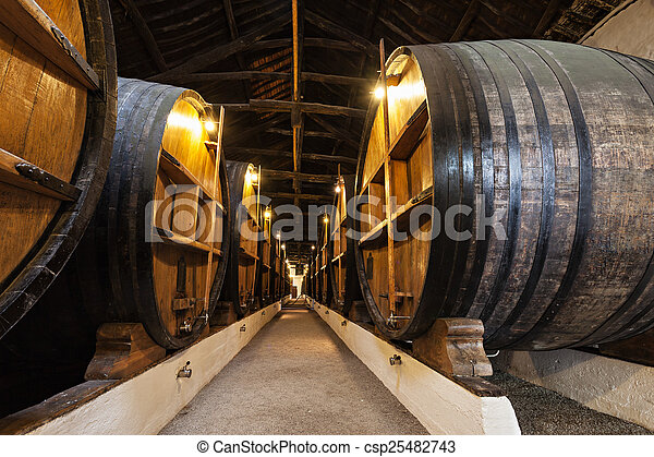 Wine cellar, Porto - csp25482743