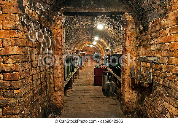Wine Cellar - csp9842386