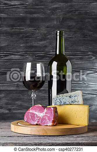 Wine Cheese And Meat