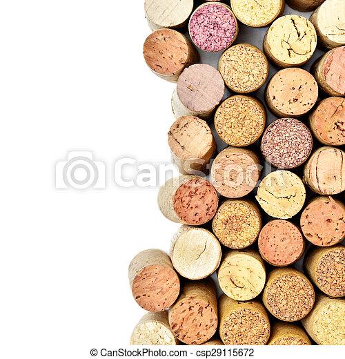 Wine corks - csp29115672