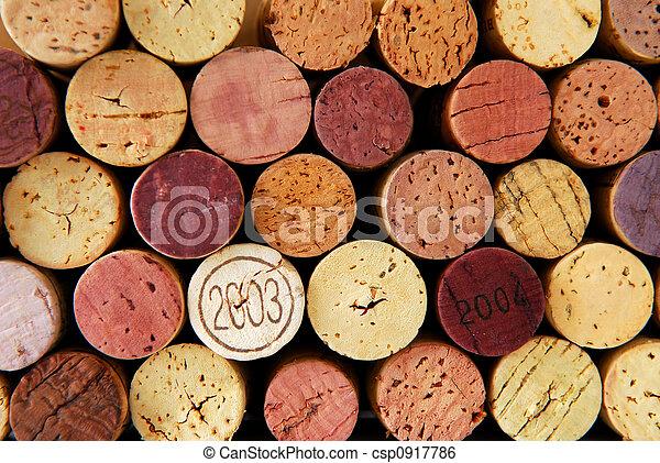 Wine corks - csp0917786