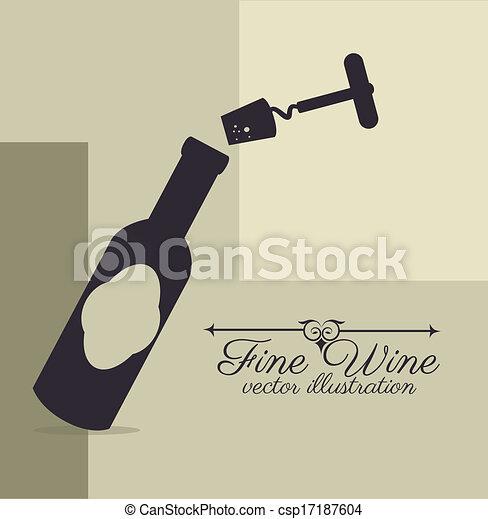 wine design  - csp17187604