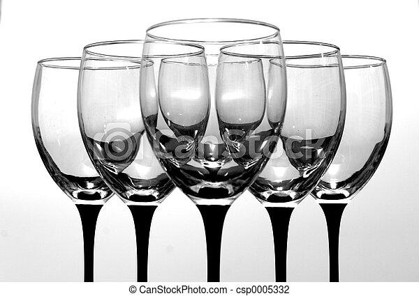 Wine Glasses - csp0005332