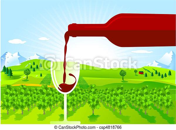 wine-growing - csp4818766