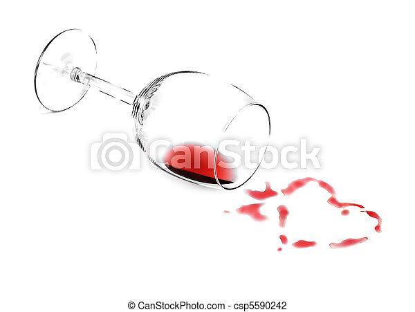 Wine heart - csp5590242
