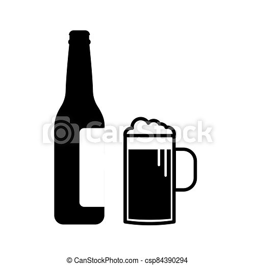 Wine icon Vector Illustration on the white background. - csp84390294