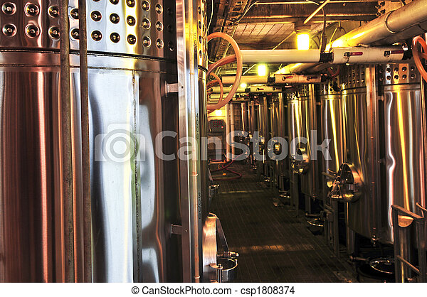 Wine making equipment - csp1808374