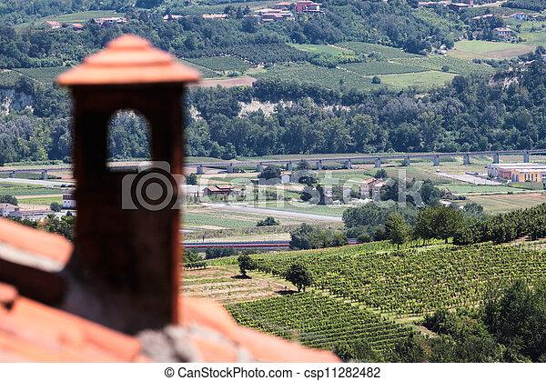 Wine region of Italy - csp11282482