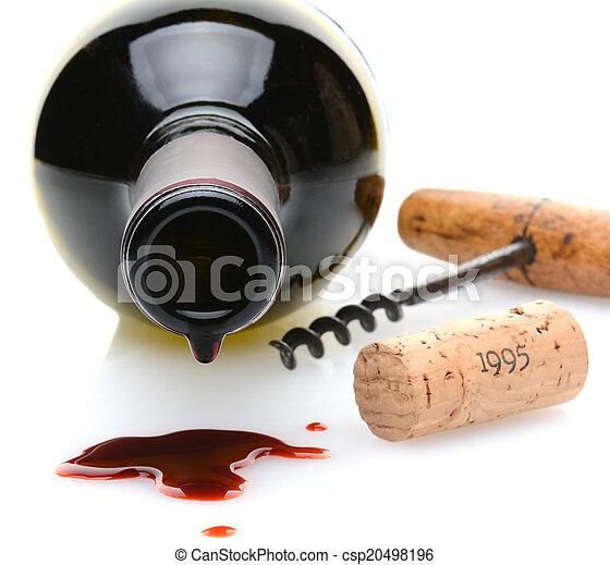 Wine Spill - csp20498196