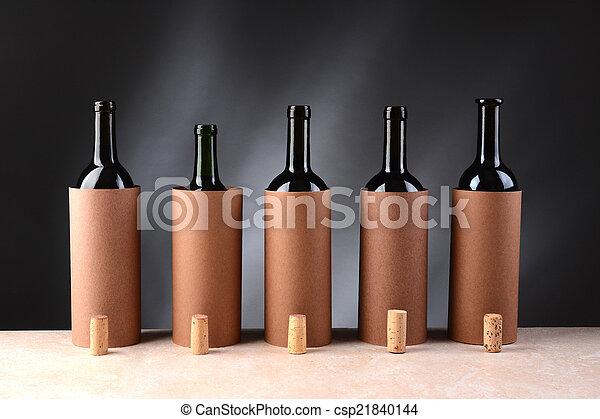 Wine Tasting Setup - csp21840144