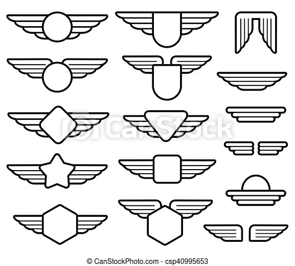 Free Pilot Wings Cliparts, Download Free Clip Art, Free Clip Art on Clipart  Library